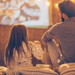 Dad-daughter movie night